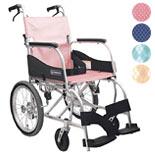 【カワムラサイクル】 介助式 最軽量車椅子ふわりす KF16-40SB