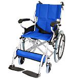 自走式アルミ製車椅子 スマイル CA-70SU