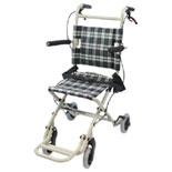 【ケアテックジャパン】介助式車椅子 トラベルミニ