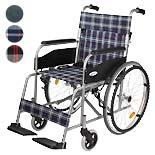 【カワムラサイクル】 自走介助兼用車椅子 WAVIT WA22-40(42)S/A