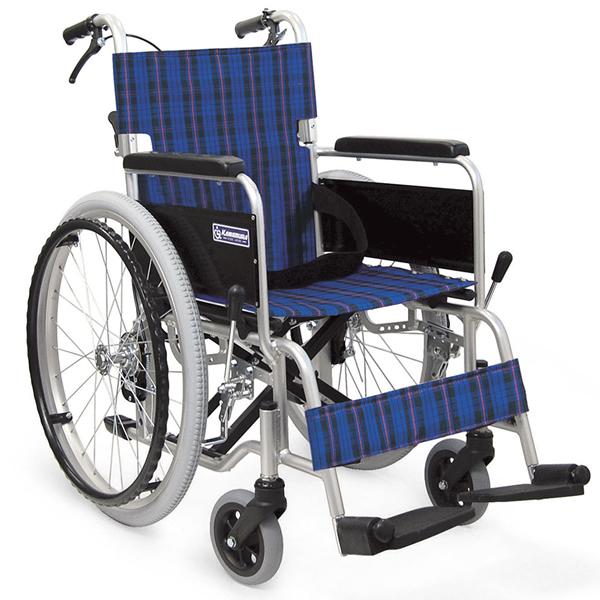 【カワムラサイクル】 アルミ製自走式車椅子 KA102SB