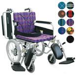 【カワムラサイクル】エレベーティング&スイングアウト車椅子 KA816-40(38・42)ELB
