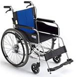 【MiKi】BAL-1 自走介助兼用 シンプルスタンダード車椅子