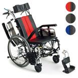 【MiKi/ミキ】TRシリーズ TR-1ティルト・リクライニング 自走介助兼用車椅子2