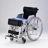 【日進医療器】 起立機能付車いす スタンダップチェア