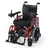 【日進医療器】2分割コンパクト6輪電動車椅子 NEO-PR