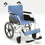 【松永製作所】ECOシリーズ アルミ製スタンダード車椅子