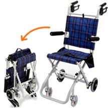 コンパクト車椅子のイメージ