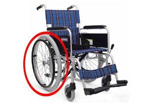 ノーパンクの車椅子イメージ