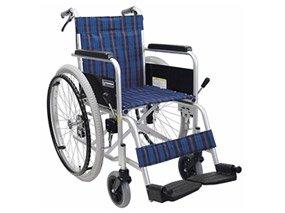 スチール製の車椅子イメージ