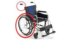 自走専用車椅子のイメージ