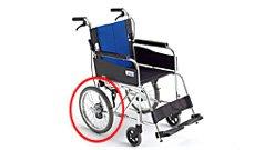 介助専用車椅子のイメージ