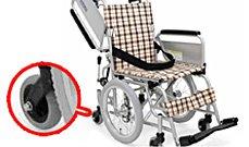 六輪車椅子のイメージ
