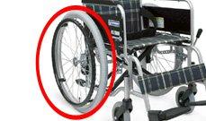 スリム車椅子のイメージ