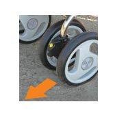 前輪固定機能のイメージ