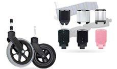 車椅子の部品のイメージ