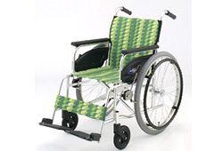 緑色のおしゃれな車椅子のイメージ
