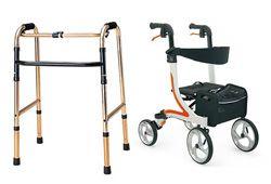 歩行器や歩行車の画像