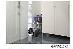 車椅子を小さく収納するイメージ