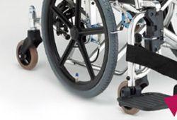 6輪車椅子のイメージ