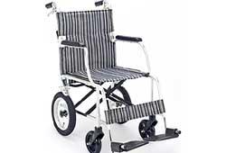コンパクト車椅子の写真