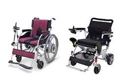 折りたたみできる電動車椅子