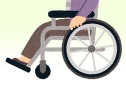 車椅子の高さのイメージ