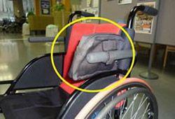 車椅子バッグのイメージ