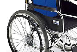車椅子のハンドリムのイメージ