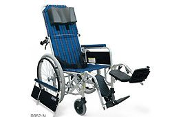 カワムラサイクルのリクライニング車椅子イメージ