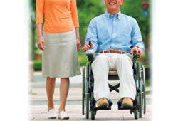 車椅子で外出のイメージ