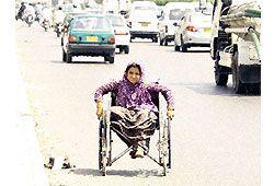 海外の車椅子のイメージ