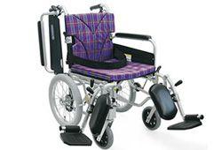 クッション付きの車椅子のイメージ
