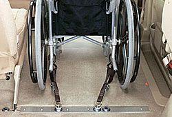 車に積む車椅子のイメージ