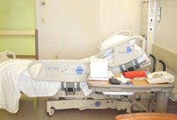 病院のベッドのイメージ