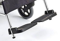 車椅子のフットサポート