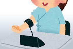 血圧計のイメージ