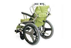 コンパクトな車椅子の写真