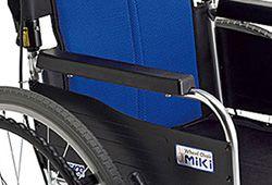 車椅子のアームレストのイメージ