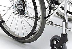 車椅子のティッピングレバーのイメージ