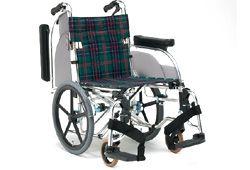 グリーンチェックの松永製作所の車椅子