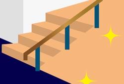 階段とスロープのイメージ