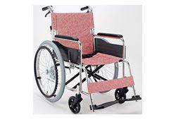 自走介助兼用車椅子の画像
