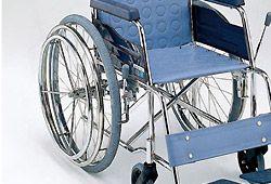 ダブルハンドリムの車椅子のイメージ