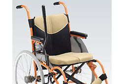 レバー駆動方式の車椅子のイメージ
