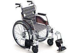 コンパクトな車いすのイメージ