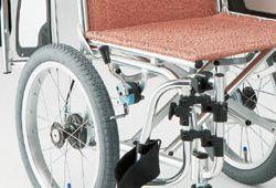 介助式車椅子の駐車ブレーキ