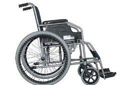 スチール車椅子の写真