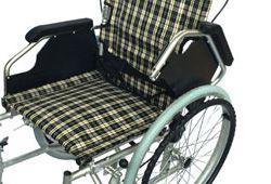 肘の跳ね上げ機能車椅子のイメージ
