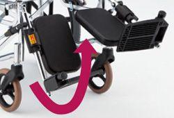 エレベーティング車椅子